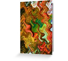 Texture Meander Greeting Card