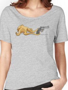 Guns Don't Kill People.... Women's Relaxed Fit T-Shirt