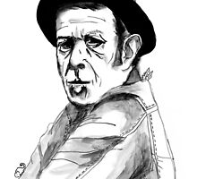 Tom Waits by burntfeather