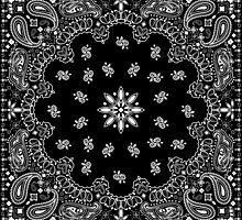 Black bandana by MartaOlgaKlara