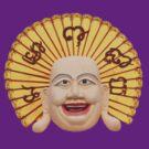 Thai statue of happy Buddha manifestation by DAdeSimone