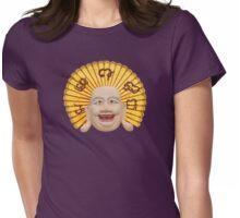 Thai statue of happy Buddha manifestation Womens Fitted T-Shirt