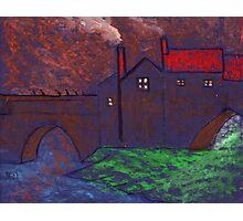 Elvet bridge Durham City Photographic Print