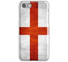England grunge flag iPhone Case/Skin