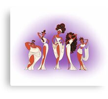 The Singing Muses Canvas Print