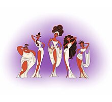 The Singing Muses Photographic Print