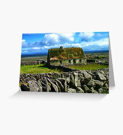 Quaint Old Cottage Greeting Card