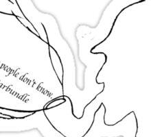 Sherlock - Becca Fletcher Sticker