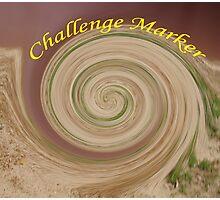 challenge marker Photographic Print