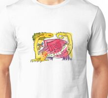 Flying George and the Lesser Spotted Dragon Unisex T-Shirt