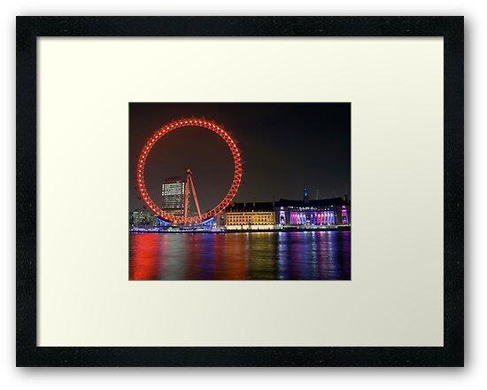London Eye by Christian  Zammit