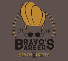 Bravo's Barbers - Man I'm Pretty! Kids Clothes
