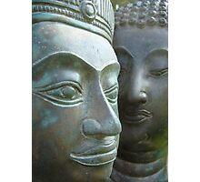 Budda in Nature Photographic Print