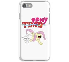 My Little Pony Adventure Time - Angel Bunny & Fluttershy iPhone Case/Skin