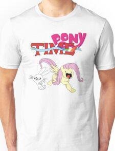 My Little Pony Adventure Time - Angel Bunny & Fluttershy Unisex T-Shirt