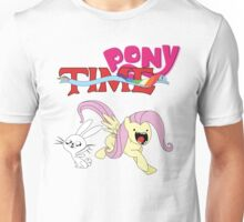 My Little Pony Adventure Time - Angel Bunny & Fluttershy Unisex T-Shirt