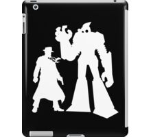 Colt and Petey, Crimefighters (White) iPad Case/Skin