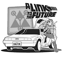 A Link To The Future Photographic Print