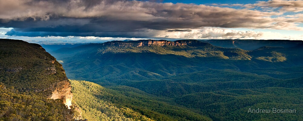 Mt Solitary.... for Dad. by Andrew Bosman