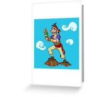 Pirate Drink Greeting Card