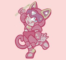 Samurai Pizza Cats- Little Polly Ester Kids Clothes