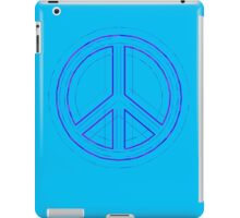 Peace Sign Symbol Abstract 4 iPad Case/Skin