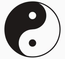 Asian Yin Yang Symbol by popculture