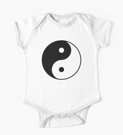 Asian Yin Yang Symbol One Piece - Short Sleeve