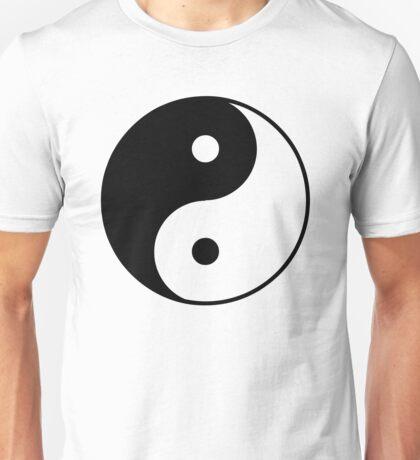 Asian Yin Yang Symbol Unisex T-Shirt