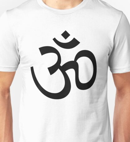 Indian Hindu Aum Om Symbol Unisex T-Shirt