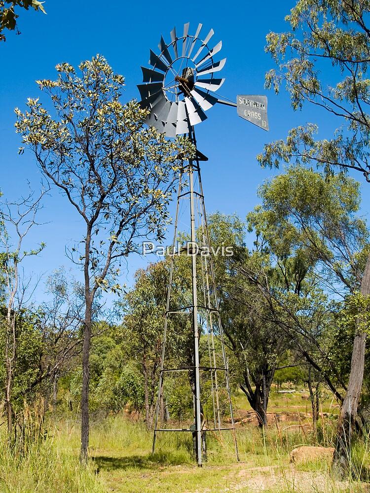 Wind - The Farmers Fountain by Paul Davis