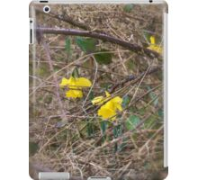 Blooming in a tough environment  iPad Case/Skin