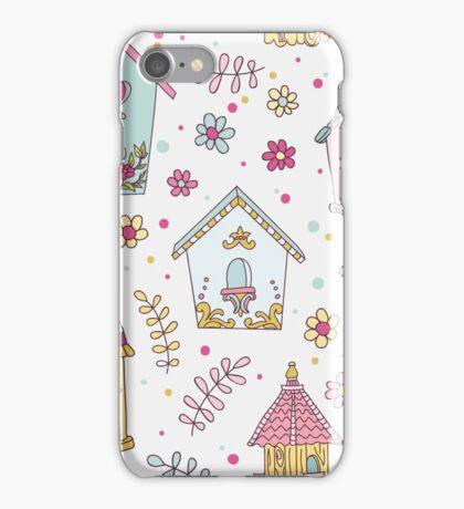 Cute Bird House iPhone Case/Skin
