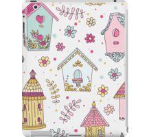 Cute Bird House iPad Case/Skin