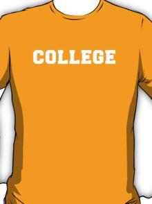College T-Shirt T-Shirt