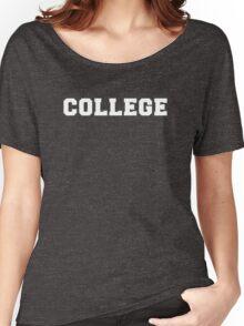 College T-Shirt Women's Relaxed Fit T-Shirt