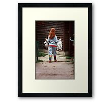 The Chicken Run Framed Print