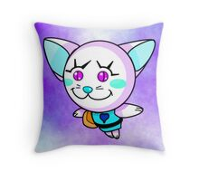 Kitty Pow Pow: Calm Pur Pow! Pow! Throw Pillow
