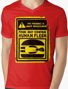 HUMAN FLESH Mens V-Neck T-Shirt