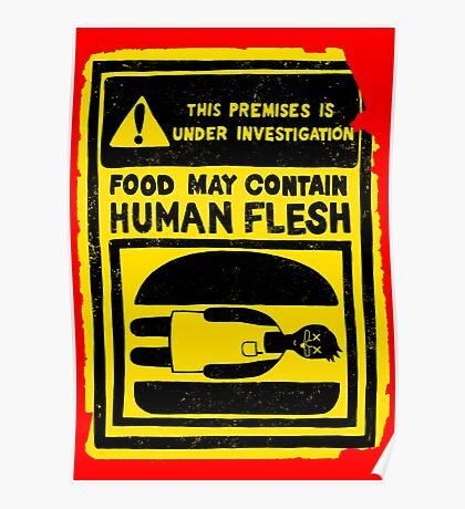 HUMAN FLESH Poster