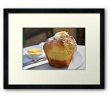 Sticky Lemon Muffin mmmmm njum njum njum ;) Framed Print