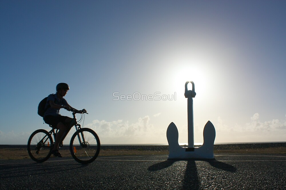Early Morning Along Napier's Marine Promenade by SeeOneSoul