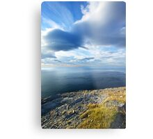 View from the Northernmost Point of Europe! Metal Print