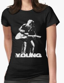 neil young Womens Fitted T-Shirt