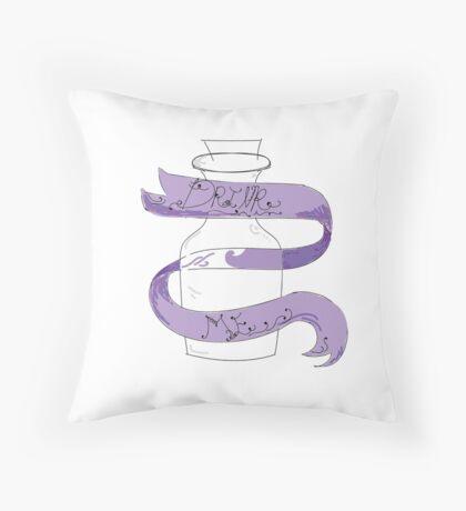 Drink Me - Amelia Dark Throw Pillow
