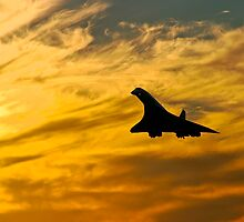 Concorde Comes Home 2 by Paul Davey