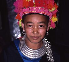 Hmong Lady by Peter Stephenson