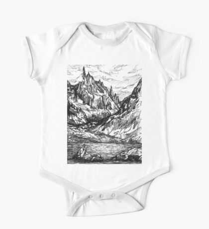 Mountains and rivers One Piece - Short Sleeve