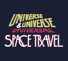 Universe & Universe Universal Space Travel Kids Tee
