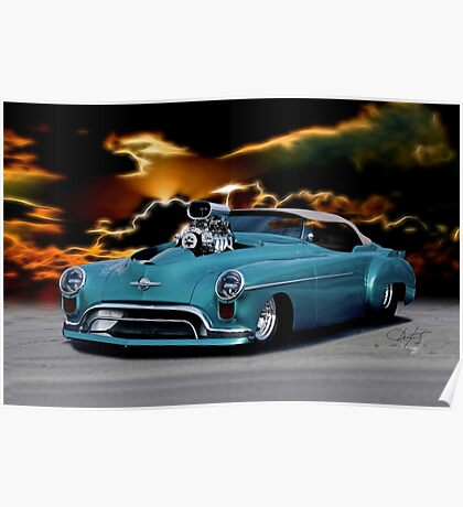 1948 Oldsmobile 'Pro Street' Convertible II Poster